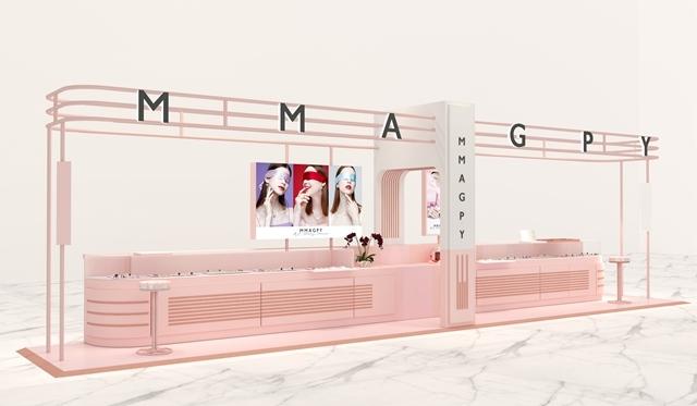 时尚珠宝品牌MMAGPY首家直营店入驻上海港汇恒隆广场